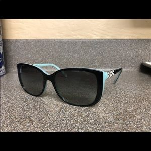 Authentic Tiffany & Co Butterfly Sided Sunglasses